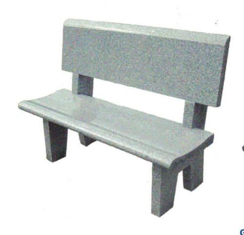 gray memorial monument bench