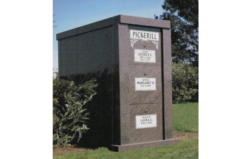 upright mausoleum